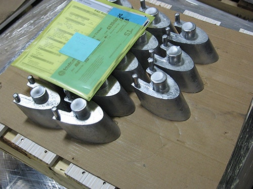 CNC MACHINING OF A STEEL SHIELDING FOR THE ELECTRONIC INDUSTRY